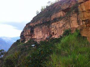 Escalada en roca Santander la Mojarra