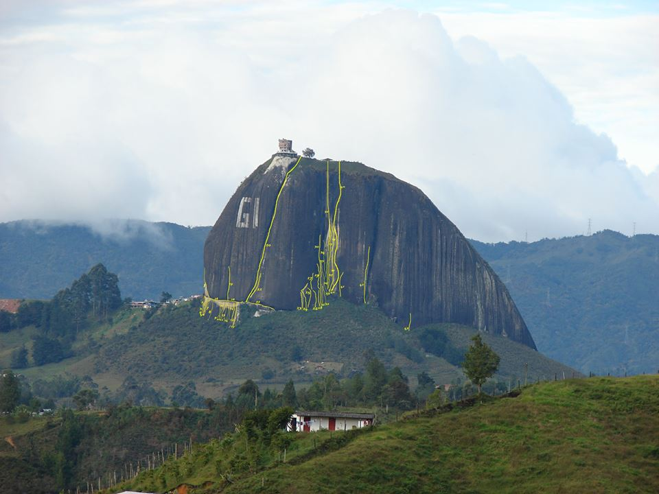 Parque de escalada el peñol antioquia