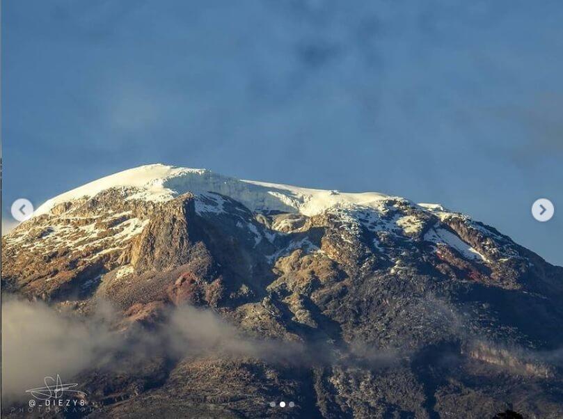 El espolón Cerro Negro