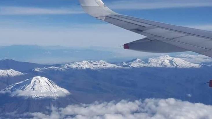 Vista aérea de Parque de los nevados